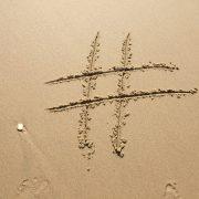 ¿Puedo registrar un #hashtag?